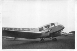 AVION FARMAN 431 AVIATION CLUB DE TOURAINE  PHOTO ORIGINALE FORMAT 8.50 X 6 CM - Aviation