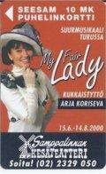 FINLAND - MY FAIR LADY - CODE: 2010 - 12/01 - 2.500 EX - Finland