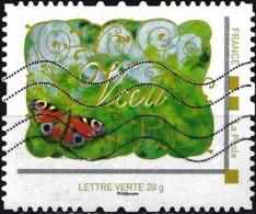 France - Montimbramoi Lettre Verte ( Voeux ) - France