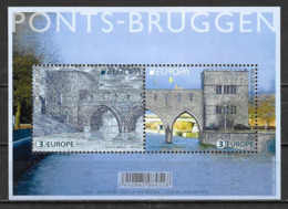 Belgique 2018 Bloc F4755 Neuf Europa Ponts - 2017