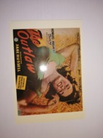 England Uncirculated Postcard - Movies - The Outlaw - Jane Russell - Plakate Auf Karten