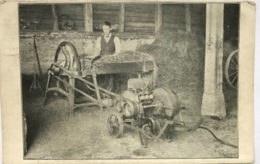 (1346) Motor - Houten Hark - Karrewiel - 1913 - Cultures