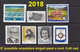 2018 Lotto Usati - 1946-.. République