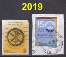 2019 Lotto Usati - 1946-.. République