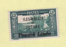 Wallis Et Futuna Taxe N° 105 Neuf ** - Ungebraucht