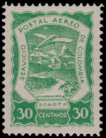 ~~~ Colombia Colombie 1921 - SCADTA - Mi. 14 ** MNH - Depart 1 Euro ~~~ - Colombia