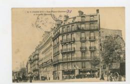 CPA: 75 - PARIS - RUE PIERRE CHARRON ET AVENUE MARCEAU - - Arrondissement: 08