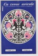 LA REVUE AVICOLE INFORMATIONS AVICOLES CUNICOLES ET COLOMBICOLES N° 10 OCTOBRE 1981 - Animaux