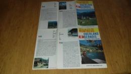 Dépliant Touristique Sur Montreux Oberland Bernois  Suisse Switzerland - Tourism Brochures