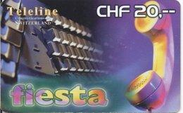 SWITZERLAND - TELELINE FIESTA 8 - Zwitserland