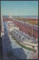 RUSSIA 1971 POSTCARD A06204 Mint VOLGA BALTIC Volgo-Balt CANAL SHIP Tanker SLUICE LOCK ECLUSE SCHLEUSE ESCLUSA # 6 - Tanker