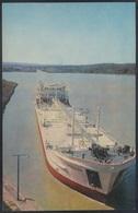 RUSSIA 1971 POSTCARD A06204 Mint VOLGA BALTIC Volgo-Balt CANAL SHIP Tanker SLUICE LOCK ECLUSE SCHLEUSE ESCLUSA # 5 - Tanker