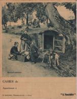 """L I/ Protège-cahiers Illustrés >  """"L'Inédit"""" Marchand Ambulant, (Exceptionnel Roulotte à Chiens)  (N= 1) - Book Covers"""