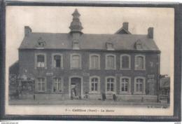 Carte Postale 59. Catillon La Mairie Très Beau Plan - France