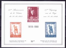 Belgien Belgium Belgique - 50. Jahrestag Des Sieges Vom 11.11.1918 (OBP: E108) 1968 - Postfrisch MNH - Erinofilia