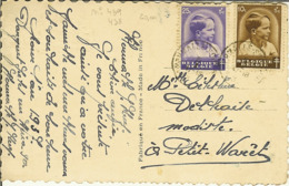 CP Avec Nr 438 Et 439 D'HERMALLE Sous HUY 1918 - Otros