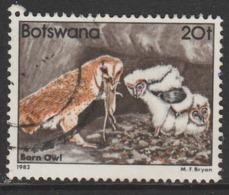 Botswana 1982 Birds 20 T Multicoloured SW 309 O Used - Botswana (1966-...)