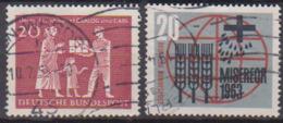 BRD 1963 MiNr.390 - 391CRALOG Und Care, Misereor ( A650 ) Günstige Versandkosten - BRD