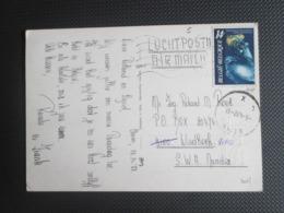 2037 - Koninklijke Sterrenwacht - Alleen Op PK Per Luchtpost Naar Windhoek Namibia - Pasen - Lettres & Documents