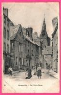 Granville - Rue Notre Dame - Animée - Horloge - Chocolat MEUNIER - Granville