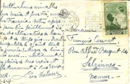 """CP Avec Nr 449 Sur Carte De BLANKENBERGHE """" Les Estacades / De Havendammen """" - Cartas"""