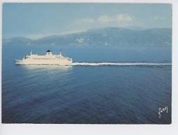 "Corse : Paquebot Car-ferry ""Napoléon"" Cie Gle Transmediterraneenne (CGT) Transports - Francia"