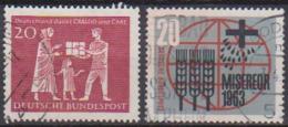 BRD 1963 MiNr.390 - 391CRALOG Und Care, Misereor ( A651 ) Günstige Versandkosten - BRD