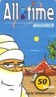 Carte Prépayée - ALLO TIME MAGREB - 50 FRANCS - TELE2 - Francia