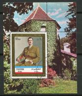 (B 16) Fujeira Ob - Bloc Michel N° 101  A - De Gaulle - Fudschaira