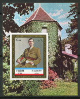 (B 16) Fujeira ** Bloc Michel N° 101 B - De Gaulle - Fudschaira
