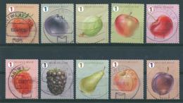 België 2018 - Gestempeld / Oblitérés - Fruit - Usados