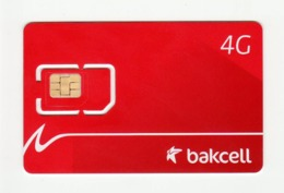 AZERBAIJAN Bakcell Red Manchester United GSM SIM MINT - Azerbaïjan