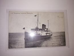 England Uncirculated Postcard - Passenger Ships - SS Manxman - Bateaux