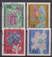 BRD 1963 MiNr.392 - 395 Briefmarkenausstellung Flora Und Philatelie IGA Hamburg ( A652 ) Günstige Versandkosten - BRD