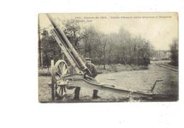 Cpa Militaria - GUERRE 1914 - Canons Allemands Contre Aéroplanes Et Dirigeables - J. COURCIER 260 - Ausrüstung