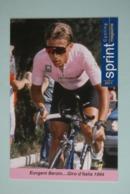 CYCLISME: CYCLISTE : EUVGENI BERZIN - Cyclisme