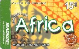 Carte Prépayée - AFRICA - IRADIUM 15 € - Frankrijk