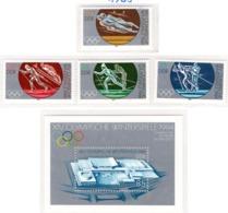 SPORT - OLYMPIC GAMES - 1983 - GERMANIA DEMOCRATICA -  Mi. Nr. 2839/2842 + BF 74 - NH - (6532-56) - Nuovi