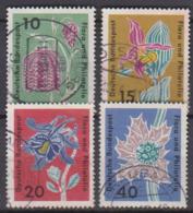 BRD 1963 MiNr.392 - 395 Briefmarkenausstellung Flora Und Philatelie IGA Hamburg ( A653 ) Günstige Versandkosten - BRD