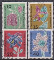 BRD 1963 MiNr.392 - 395 Briefmarkenausstellung Flora Und Philatelie IGA Hamburg ( A654 ) Günstige Versandkosten - BRD