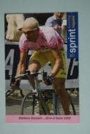 CYCLISME: CYCLISTE : STEFANO GARZELLI - Cyclisme
