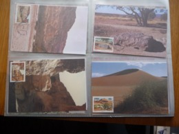(B2) SWA Sud Ouest Africain 1988 Castle Chateau Argile Canyon Gorge Dune Sable Sand CM 4 Maxicard Carte Maxi - South West Africa (1923-1990)