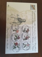 "Belgique  Used 1990 Stamp Exhibition ""BELGICA 90"" - Roses - Usados"