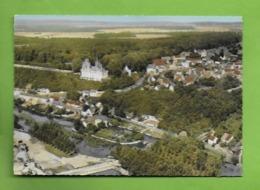 CPSM 28 EURE ET LOIR   .CLOYES   Vue Aérienne.Château De Montigny Le Gannelon. - Cloyes-sur-le-Loir
