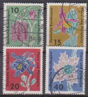 BRD 1963 MiNr.392 - 395 Briefmarkenausstellung Flora Und Philatelie IGA Hamburg ( A655 ) Günstige Versandkosten - BRD