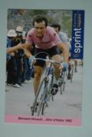 CYCLISME: CYCLISTE : BERNARD HINAULT - Ciclismo