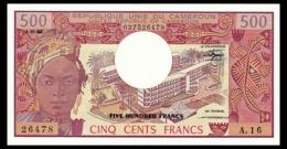# # # Banknote Kamerun (Cameroun) 500 Francs 1983 # # # - Camerún