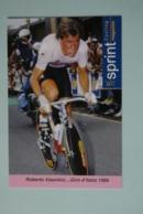 CYCLISME: CYCLISTE : ROBERTO VISENTINI - Cyclisme