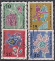 BRD 1963 MiNr.392 - 395 Briefmarkenausstellung Flora Und Philatelie IGA Hamburg ( A656 ) Günstige Versandkosten - BRD