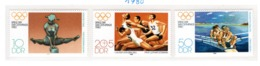 SPORT - OLYMPIC GAMES - 1980 - GERMANIA DEMOCRATICA -  Mi. Nr. 2503/2505 - NH - (6532-56) - Nuovi